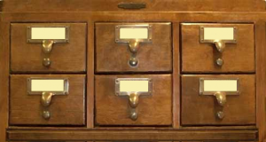 Image of Card Catalog